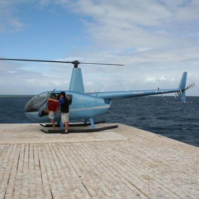 zo vloog ik over het Great Barrier Reef