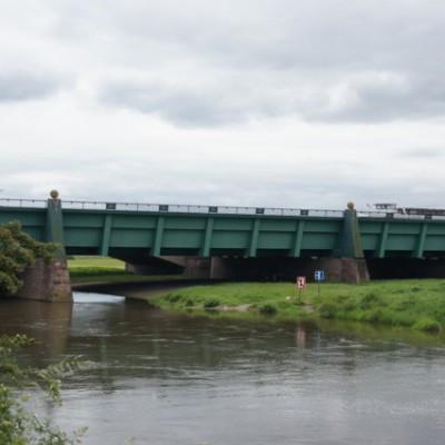 ongelijkvloerse kruising van waterwegen, Minden