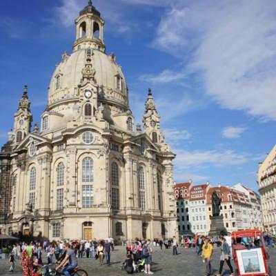 de Dom in Dresden