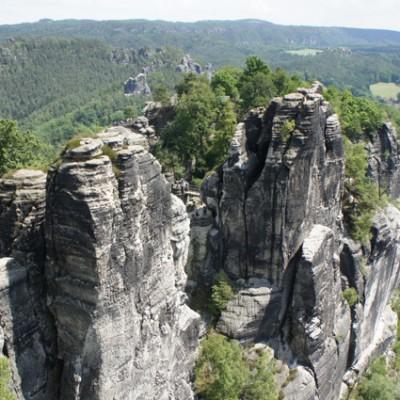 De Bastei, saksischer schweiss