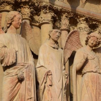 Kathedraal Reims beelden