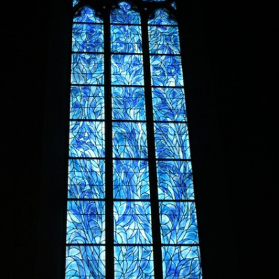 glas in lood chagall, mainz