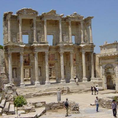 De bibliotheek in Efeze