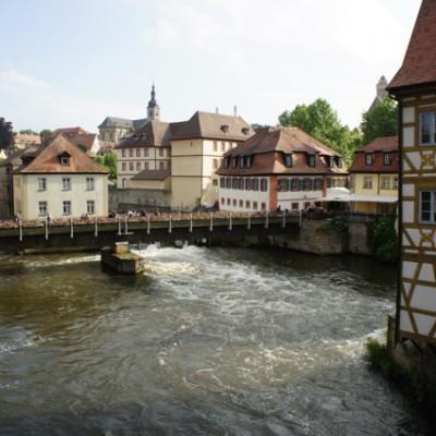 vakwerk in Bamberg