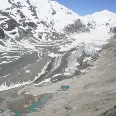 gletscher Grossglockner, bijna verdwenen