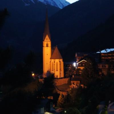 de St. Vinzenz kerk in Heiligenblut