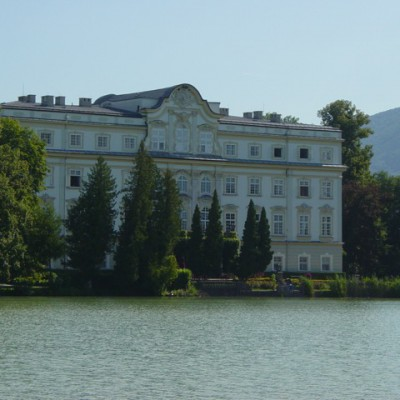 Schloss Leopoldskron uit de Sound of Music