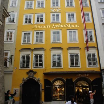 Mozart's geboortehuis