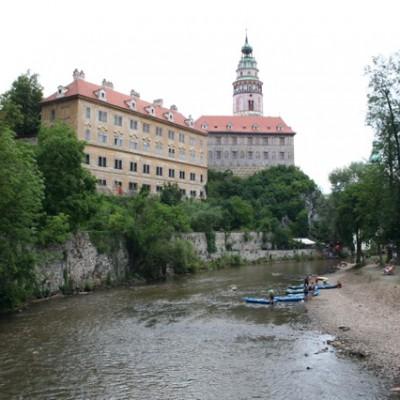 Česky Krumlov aan de Moldau