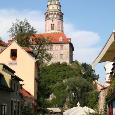 Česky Krumlov Kasteel Toren