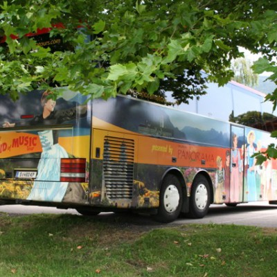Bus van de Sound of Music-tour