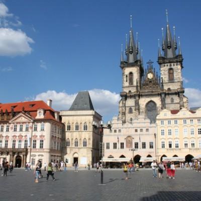 Marktplein Praag
