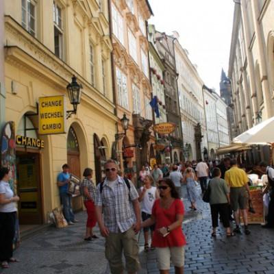 oude binnenstad Praag