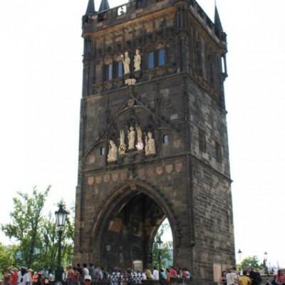 toren bij Karelsbrug Praag