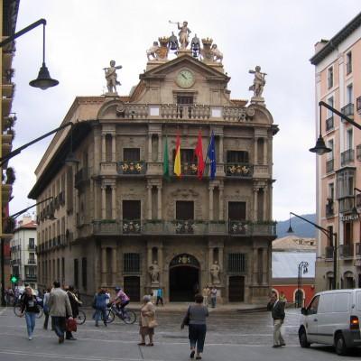 stadhuis van Pamplona