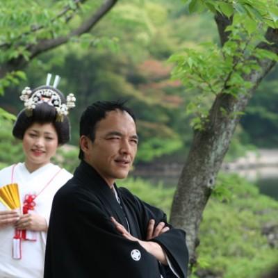 Bruidspaar 2 in Hiroshima