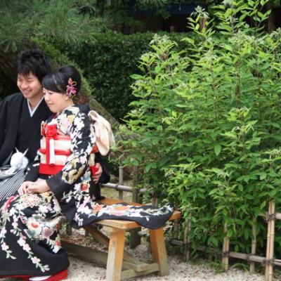 Bruidspaar in Hiroshima